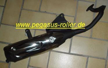 Auspuff Corona 50 ccm Pegasus Corona 50 Ersatzartikel