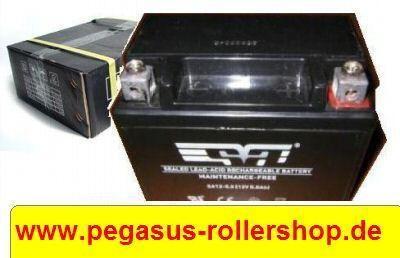 Batterie PEUGEOT PEGASUS SYM ...Motorroller 50 ccm