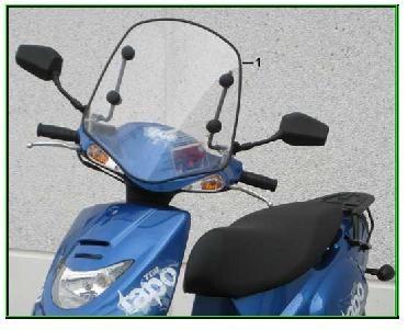 Windschutzscheibe Corona/Skiper (im Preis reduziert !!!)