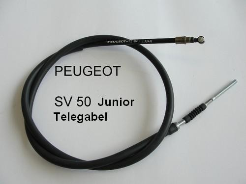 Bremszug vorne PEUGEOT SV 50 Junior