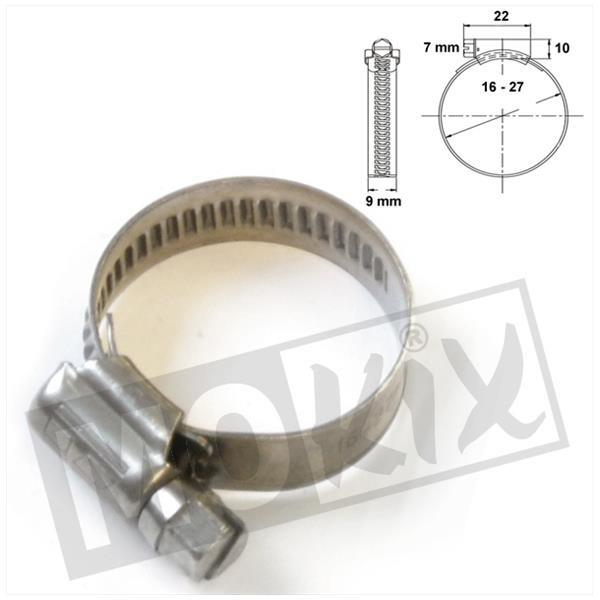 SCHLAUCHSCHELLE-9 INOX 16x25 (1)