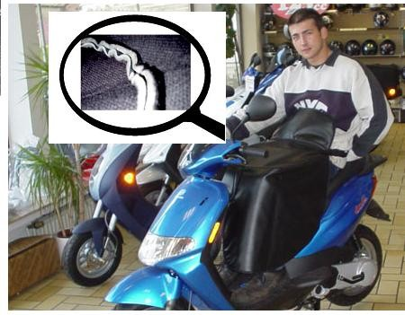 Beinschutzdecke / Knieschutzdecke dick gefüttert Roller/Rollstuh-Copy-Copy