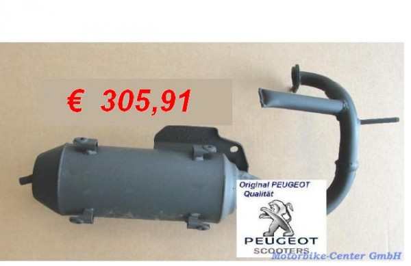 Auspuff PEUGEOT Elystar 50